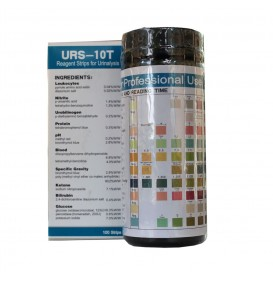 10 Parameter Urine Reagent Strips URS-10