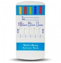 5 Panel Multi Drug Urine Test Kit AMP/PCP/COC/OPI/THC (NIDA 5)