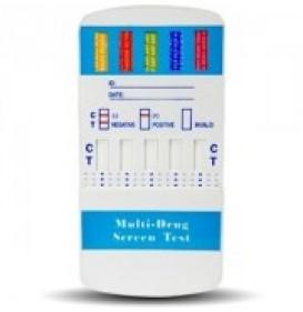 10 Panel Multi Drug Urine Test Kit CLIA Waived 4104