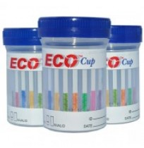 One Step Urine 6 Drugs Screening Cup - Eco Cup AMP/BZO/COC/mAMP/OPI/THC