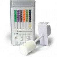 Oral Cube Saliva DOA Test for 10 Drugs AMP/COC/mAMP/OPI/THC/PCP/BZO/OXY/BAR/BUP
